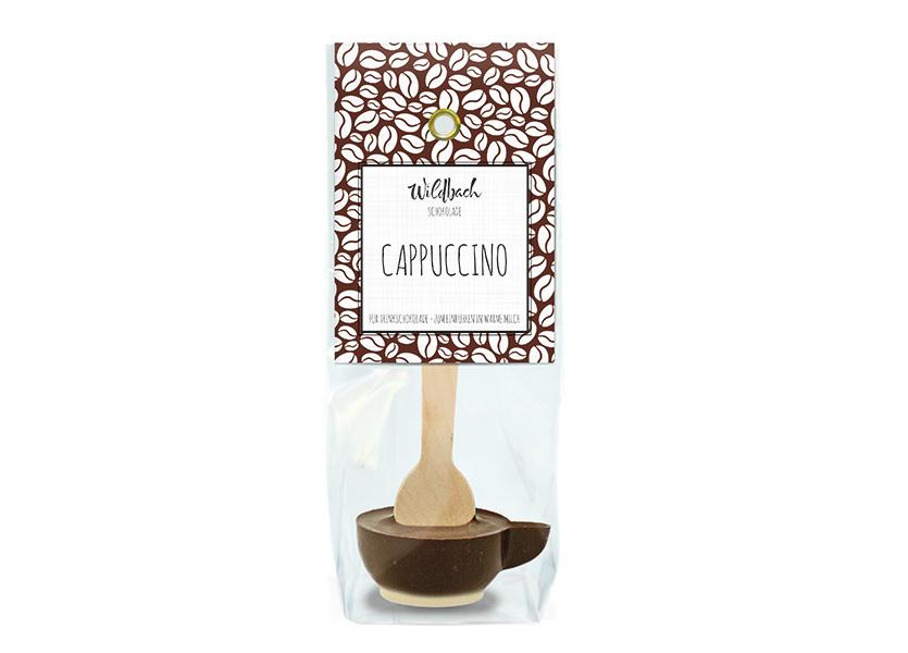 Wildbach Schokolade - Trinkschokolade Haferl Cappuccino