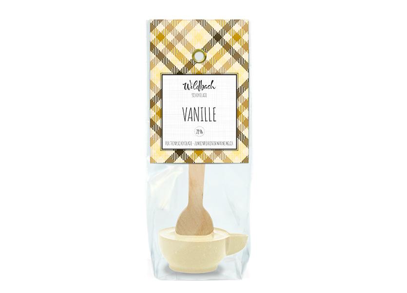 Wildbach Schokolade - Trinkschokolade Haferl Vanille