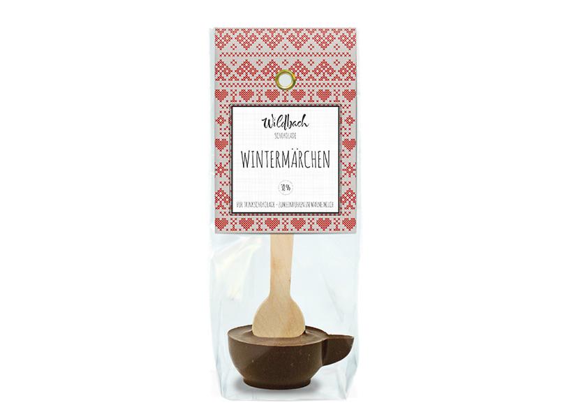 Wildbach Schokolade - Saisonschokoladen Haferl Wintermärchen