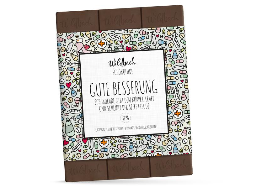 Schokolade Gute Besserung