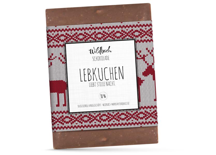 Wildbach Schokolade - Saisonschokoladen Lebkuchen