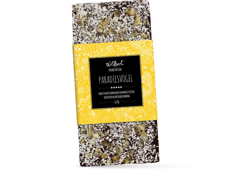 Wildbach Schokolade - Deluxe Edition DELUXE EDITION – Paradiesvogel