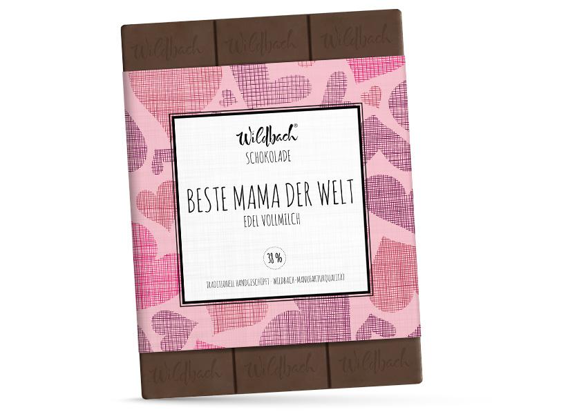 Wildbach Schokolade - Für unsere Liebsten Beste Mama der Welt