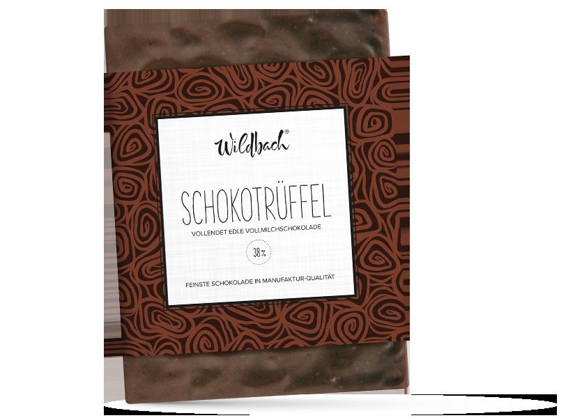 Wildbach Schokolade - Füllungen Schokotrüffel