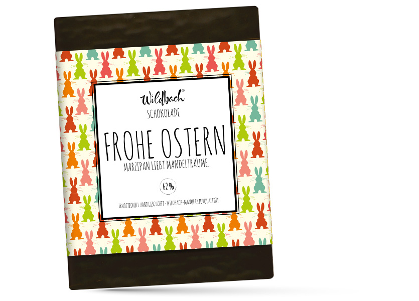 Wildbach Schokolade - Saisonschokoladen Oster-Marzipan