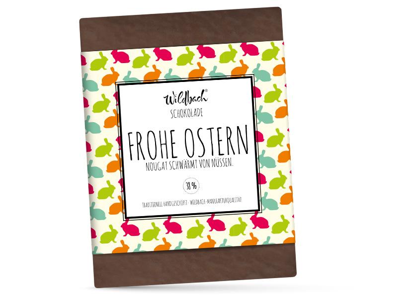 Wildbach Schokolade - Saisonschokoladen Oster-Nougat