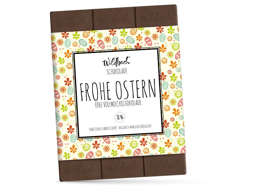 Wildbach Schokolade - Saisonschokoladen Oster-Vollmilch