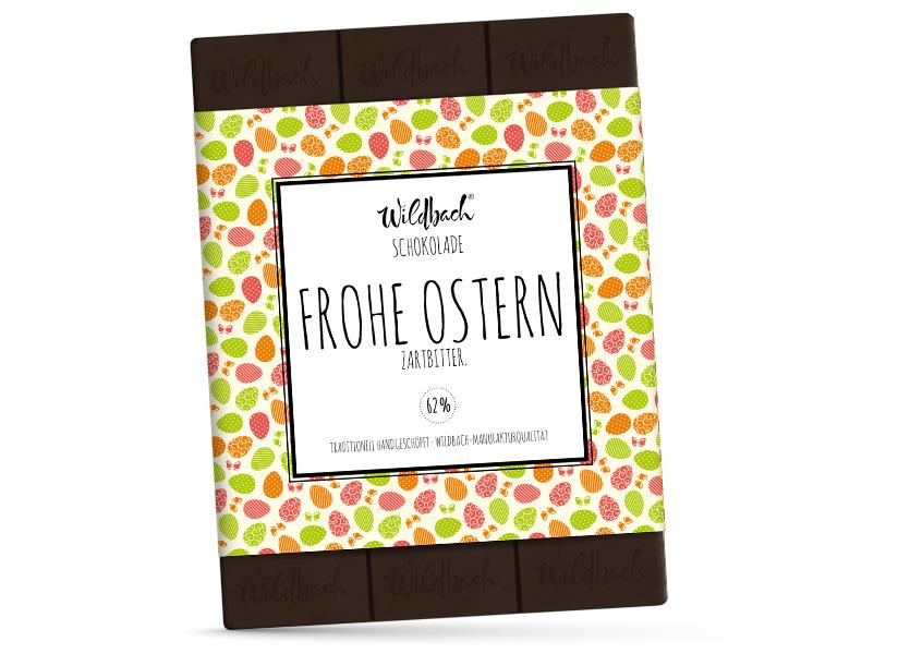 Wildbach Schokolade - Saisonschokoladen Oster-Zartbitter