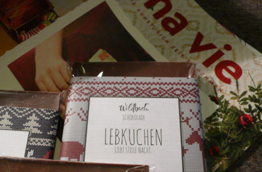 """ma vie"" und leckere Wildbach Schokolade…"