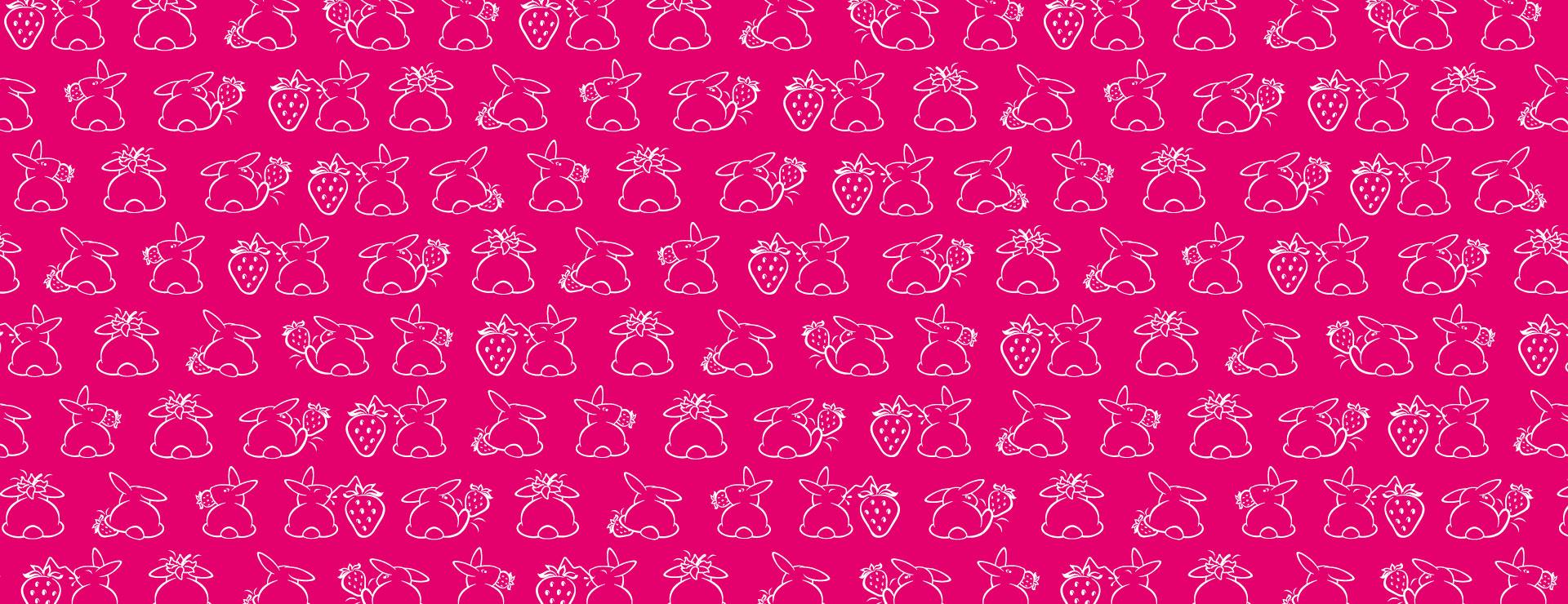 Hintergrund_Erdbeerhäschen