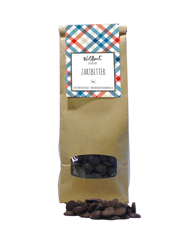 Wildbach Schokolade - Glutenfrei Schoko-Drops Zartbitter