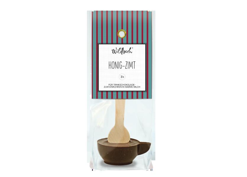 Wildbach Schokolade - Saisonschokoladen Haferl Honig-Zimt