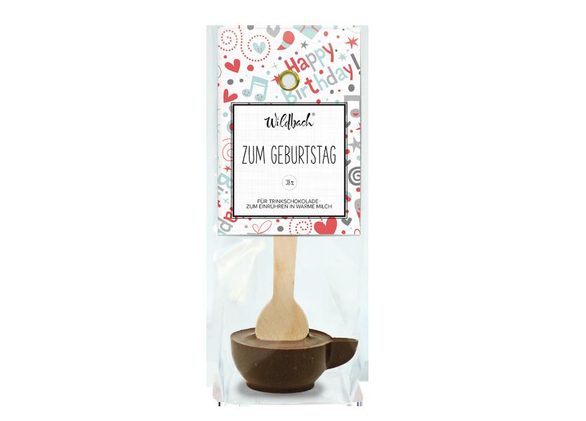 """Wildbach Schokolade - Glutenfrei Haferl """"Zum Geburtstag"""""""