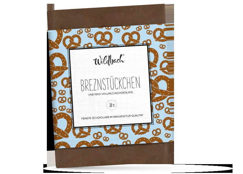 Wildbach Schokolade - Früchte und Spezielles Breznstückchen