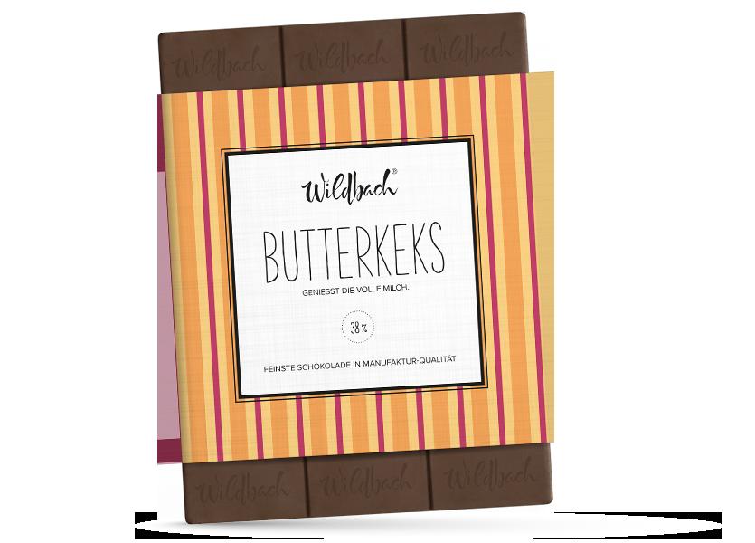 Wildbach Schokolade - Früchte und Spezielles Butterkeks