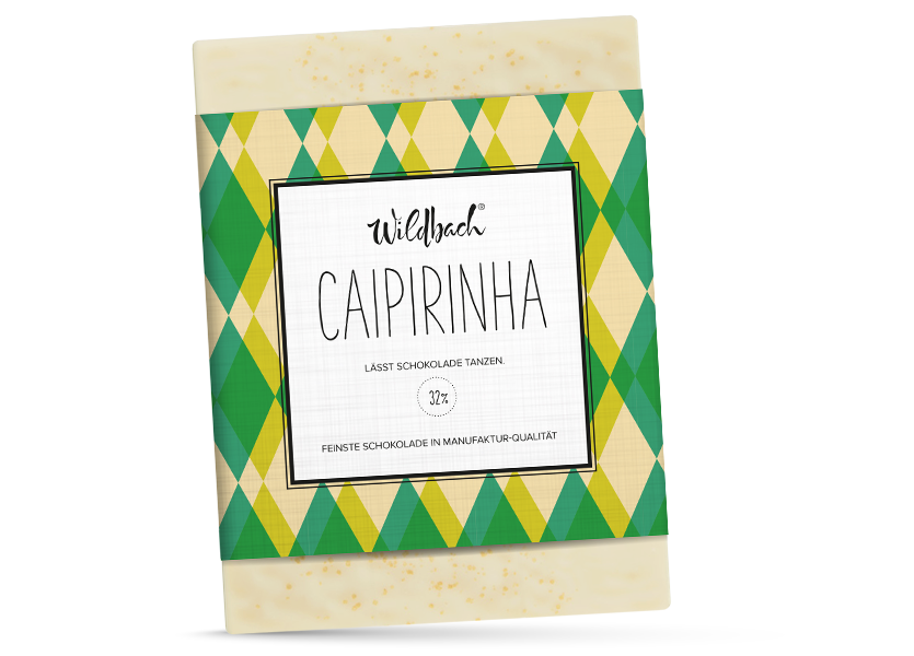 Wildbach Schokolade - Füllungen Caipirinha