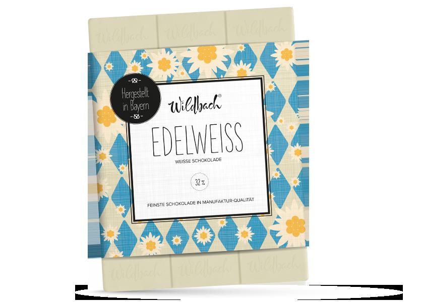 Wildbach Schokolade - Bayernserie Edelweiß