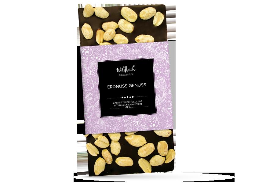 Wildbach Schokolade - Deluxe Edition Erdnuss Genuss