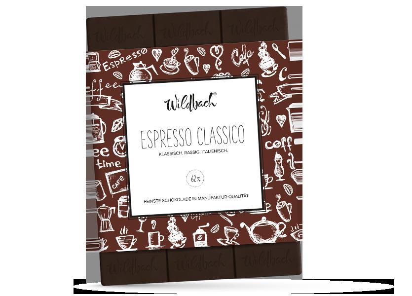 Wildbach Schokolade - Früchte und Spezielles Espresso Classico