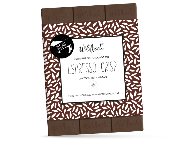 Wildbach Schokolade - Glutenfrei Espresso-Crisp