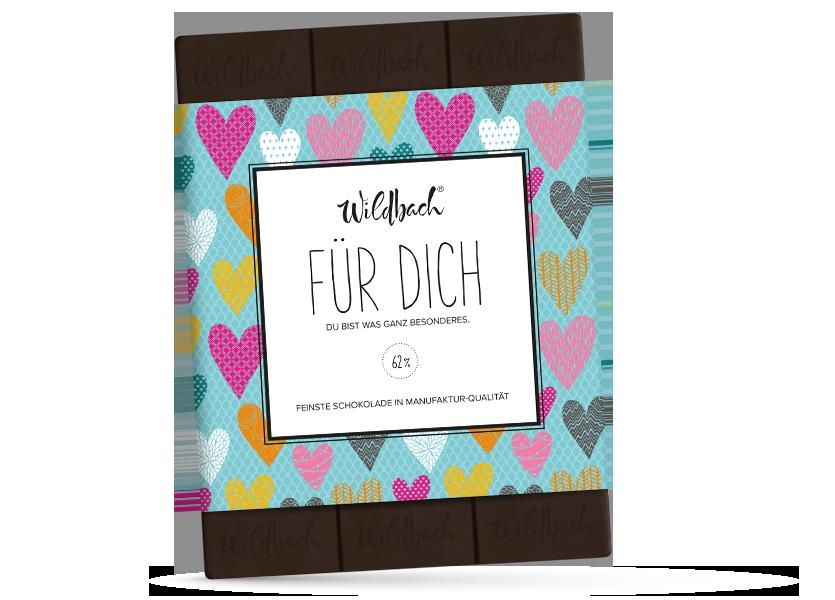 Wildbach Schokolade - Für unsere Liebsten Für Dich – Zartbitter