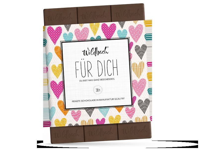 Wildbach Schokolade - Für unsere Liebsten Für Dich – Du bist etwas ganz Besonderes