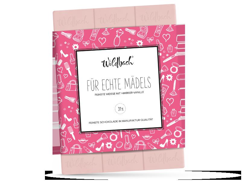 Wildbach Schokolade - Für unsere Liebsten Für echte Mädels