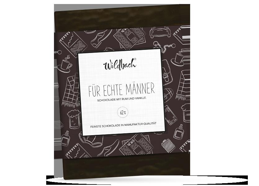 Wildbach Schokolade - Für unsere Liebsten Für echte Männer