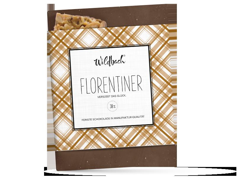 Wildbach Schokolade - Glutenfrei Florentiner