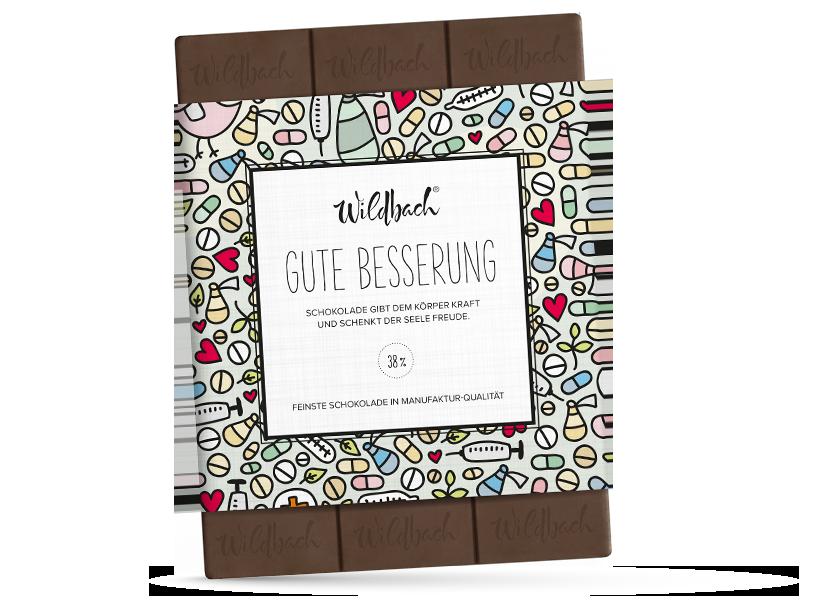 Wildbach Schokolade - Für unsere Liebsten Gute Besserung