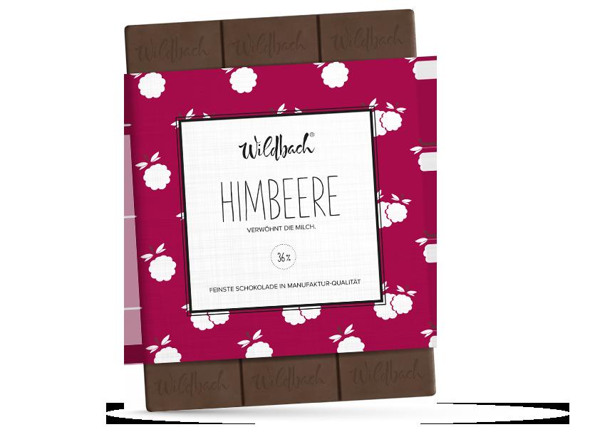 Wildbach Schokolade - Früchte und Spezielles Himbeere