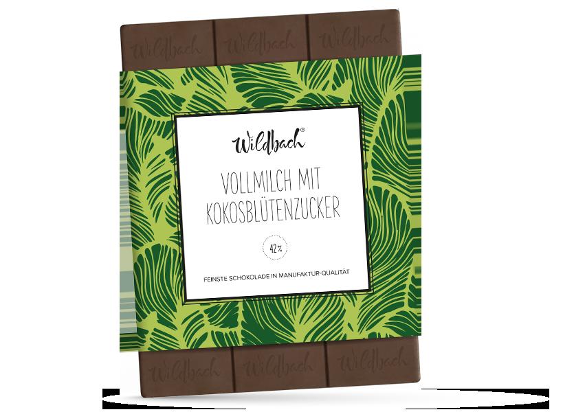 Wildbach Schokolade - Früchte und Spezielles Kokosblütenzucker