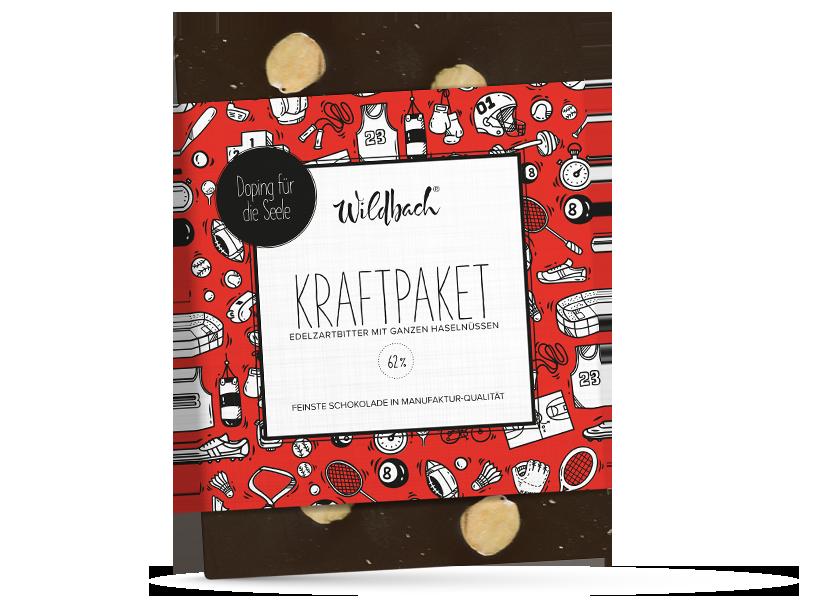 Wildbach Schokolade - Doping für die Seele Kraftpaket