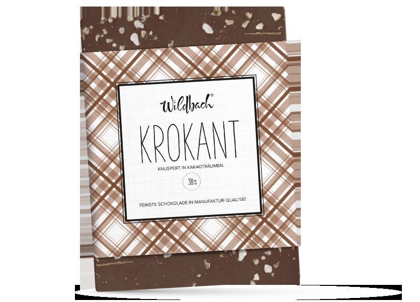 Wildbach Schokolade - Glutenfrei Krokant