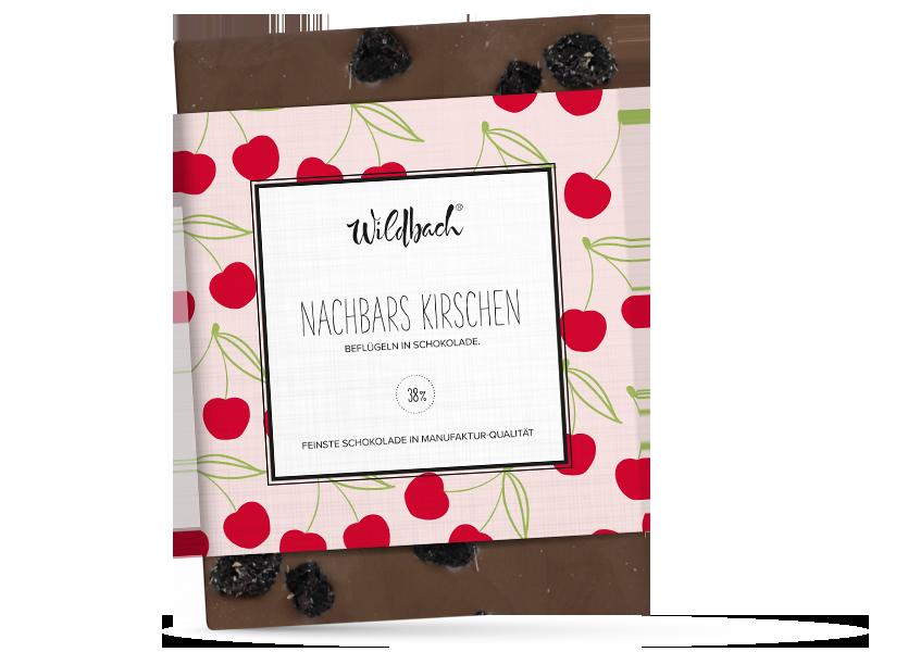 Wildbach Schokolade - Früchte und Spezielles Nachbars Kirschen
