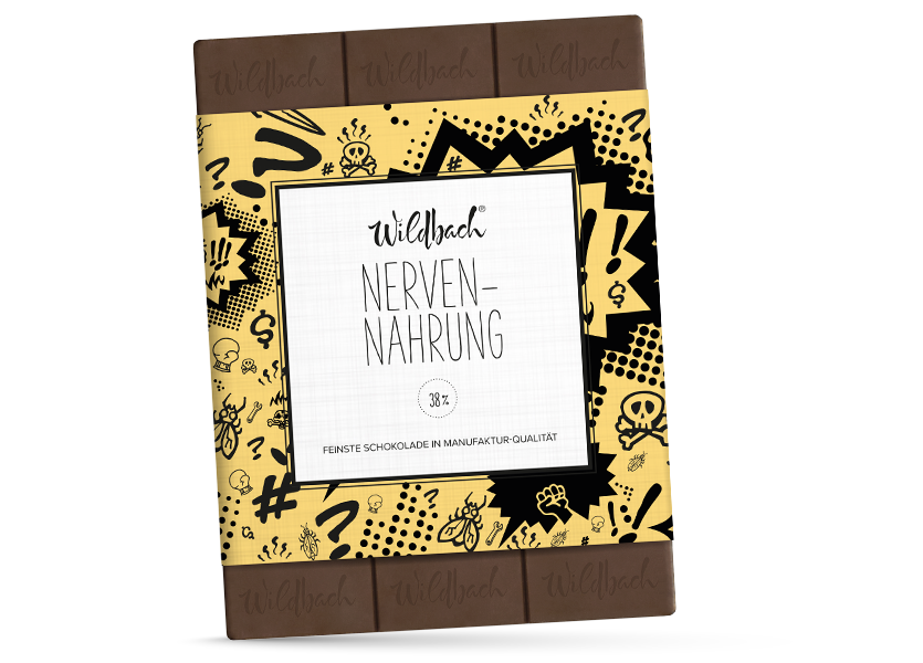 Wildbach Schokolade - Glutenfrei Nervennahrung