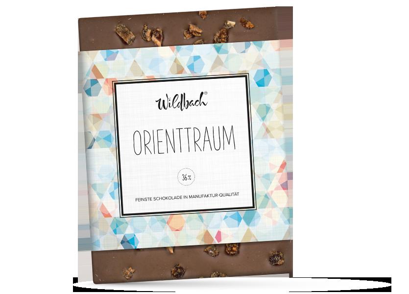 Wildbach Schokolade - Früchte und Spezielles Orienttraum
