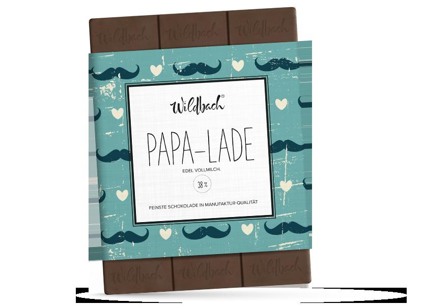 Wildbach Schokolade - Für unsere Liebsten Papa-Lade