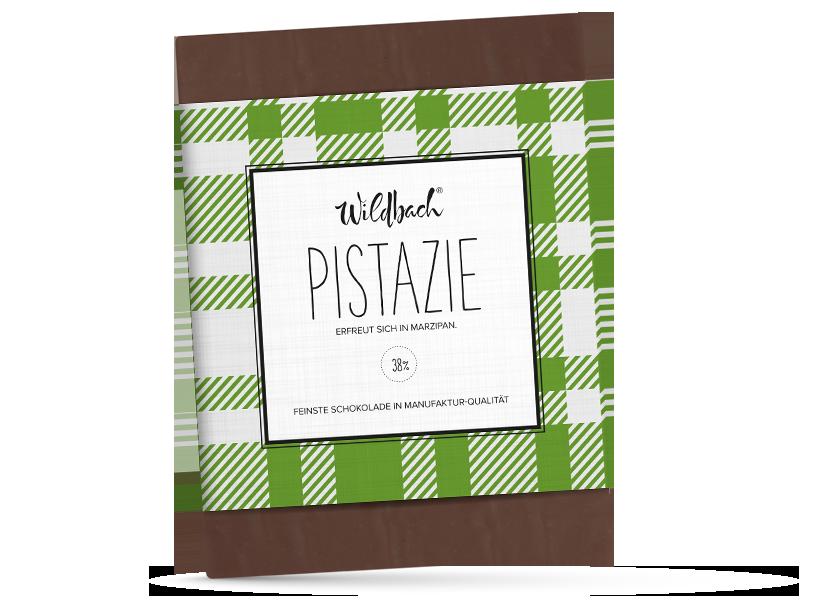 Wildbach Schokolade - Füllungen Pistazie