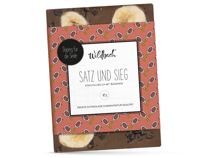 Wildbach Schokolade - Doping für die Seele Satz und Sieg