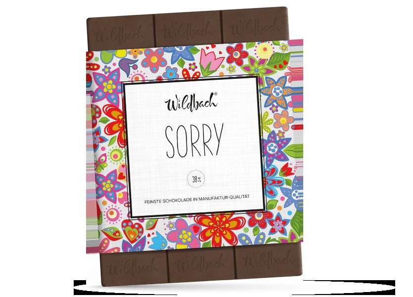 Wildbach Schokolade - Glutenfrei Sorry