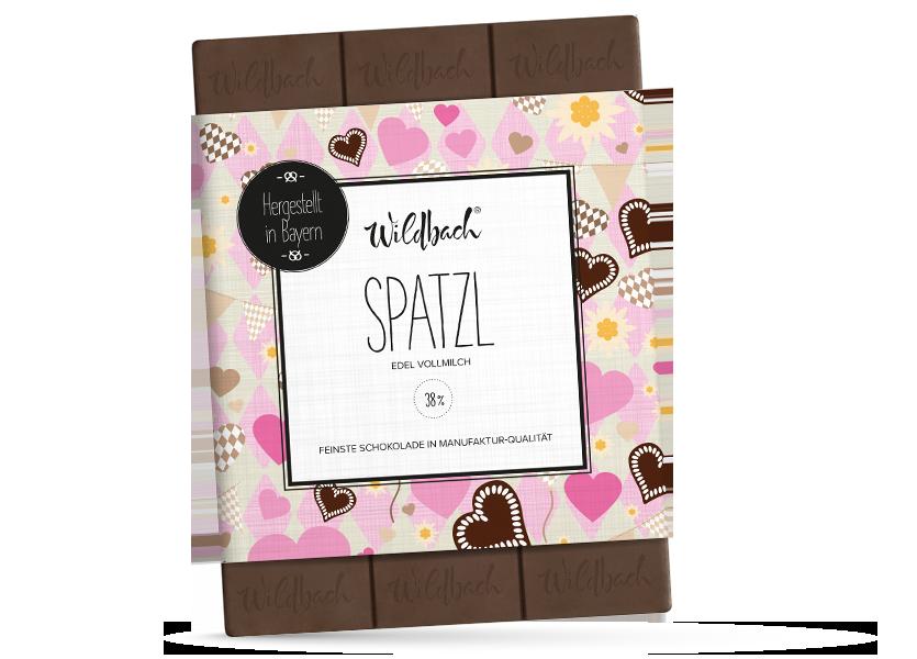Wildbach Schokolade - Bayernserie Spatzl