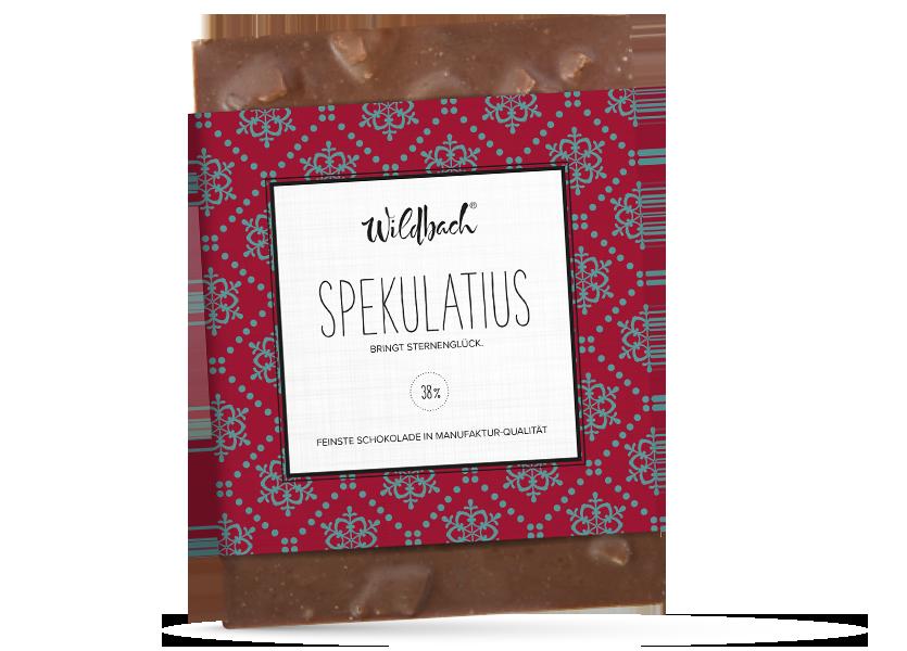 Wildbach Schokolade - Saisonschokoladen Spekulatius
