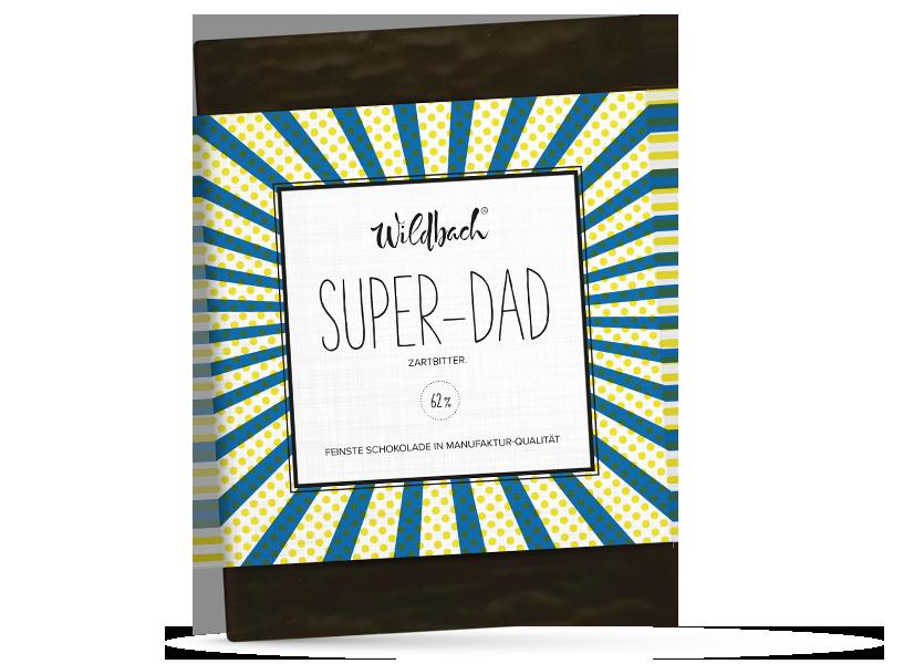 Wildbach Schokolade - Für unsere Liebsten Super-Dad
