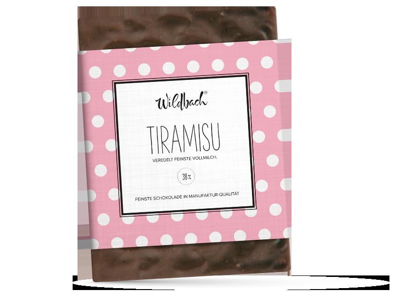 Wildbach Schokolade - Füllungen Tiramisu