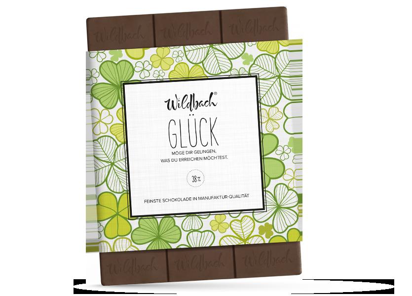 Wildbach Schokolade - Für unsere Liebsten Viel Glück