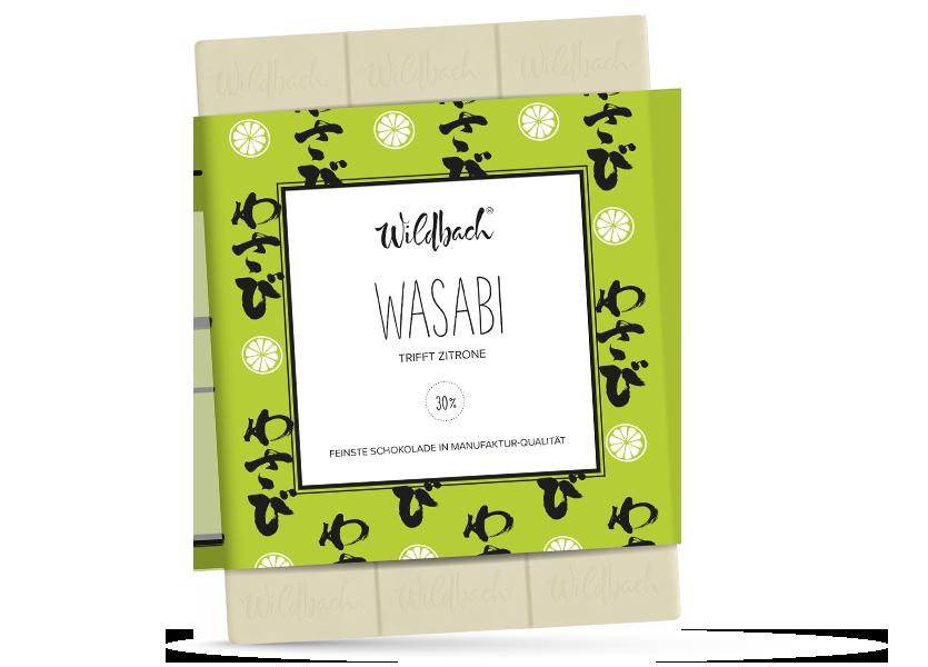 Wildbach Schokolade - Früchte und Spezielles Wasabi