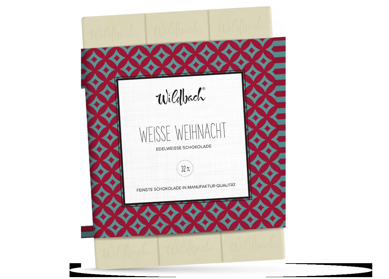 Wildbach Schokolade - Glutenfrei Weiße Weihnacht