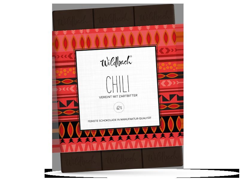 Wildbach Schokolade - Früchte und Spezielles Chili