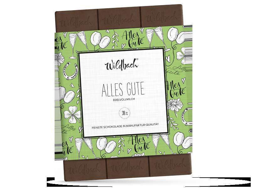 Wildbach Schokolade - Für unsere Liebsten Alles Gute